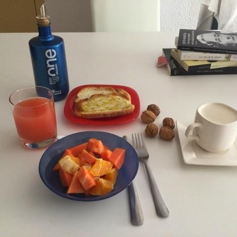 Desayuno con One Organic